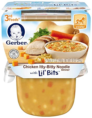 Amazon Gerber 3rd Foods Chicken Itty Bitty Noodle With Lil