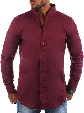 Carisma - Camisa Casual - Cuello Congregado - Manga Larga - para Hombre