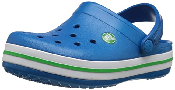 crocs Kids' Crocband Clog (Toddler/Little Kid/Big Kid), Ultra Marine, 1 M US Little Kid