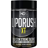 NDS Nutrition LipoRush XT - Super Concentrated Thermogenic With L-Carnitine And Teacrine For Shredding Fat - Supports…