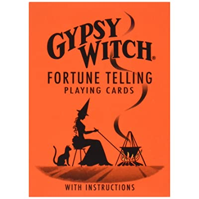 US Games Gypsy Witch Fortune Telling Cards: Toys & Games