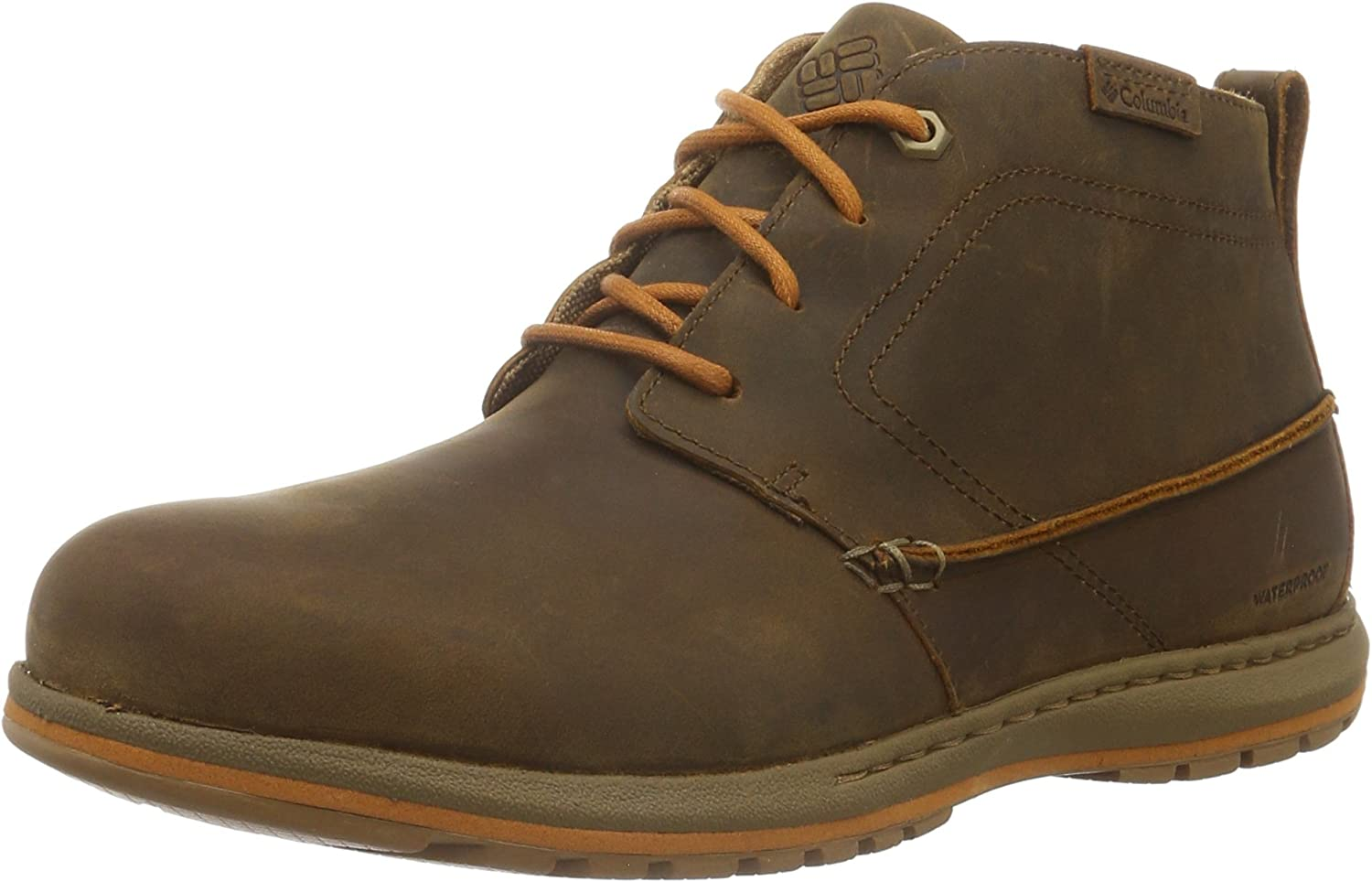 TALLA 40 EU. Columbia Davenport Chukka Waterproof Leather, Oxford para Hombre