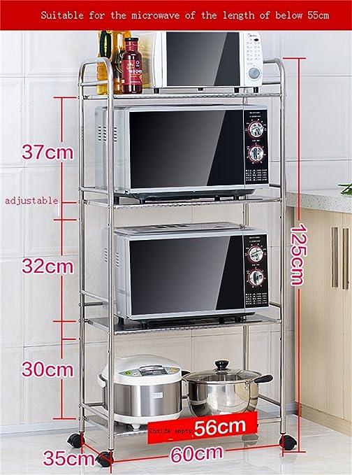 Mobili da cucina Cucina scaffalature Forno a microonde Rack Landing ...