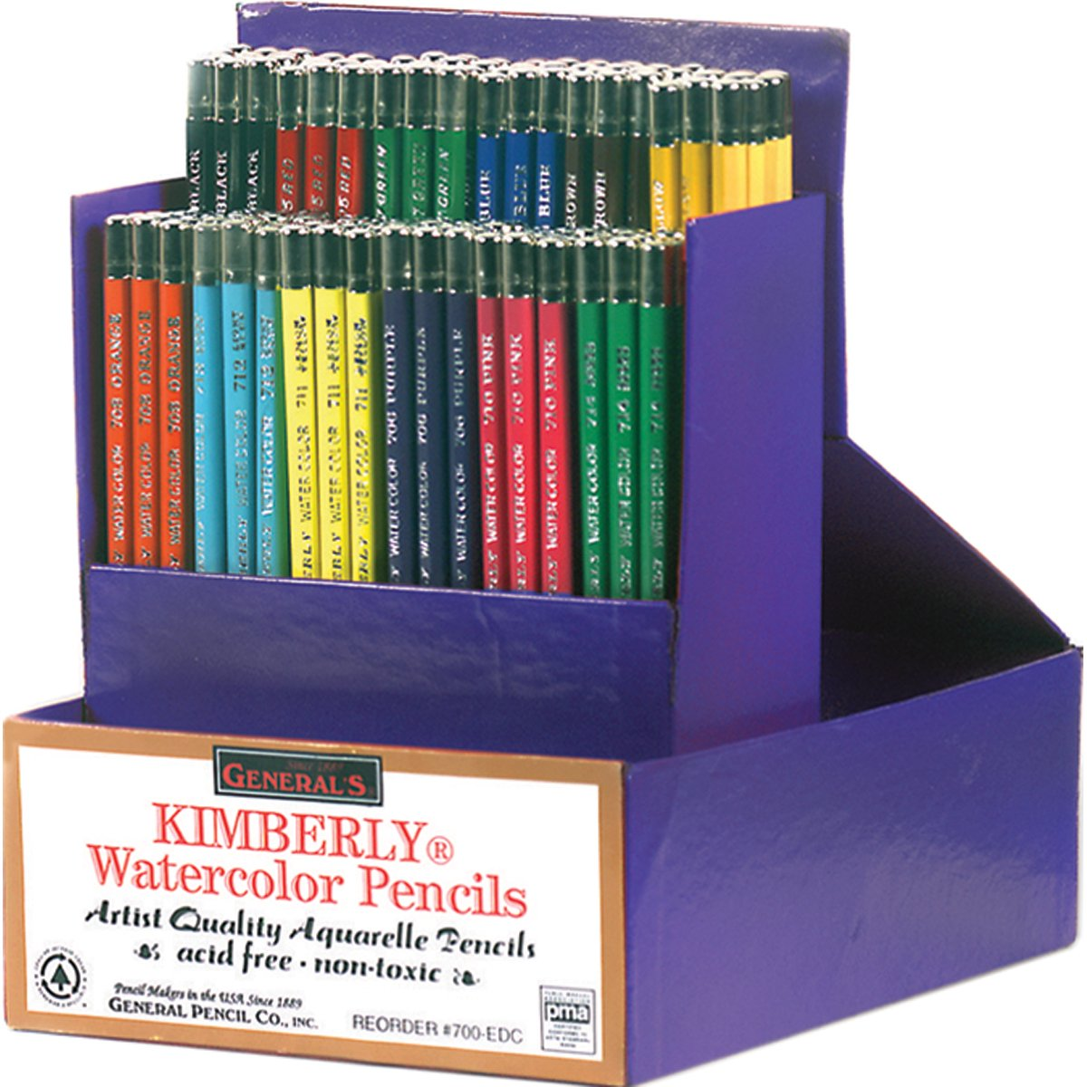 Kimberly Watercolor Pencils Classroom Art Packs- (並行輸入品) B00SA831VE