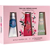 L'Occitane Fast-Absorbing 20% Shea Butter Hand Cream pack of three