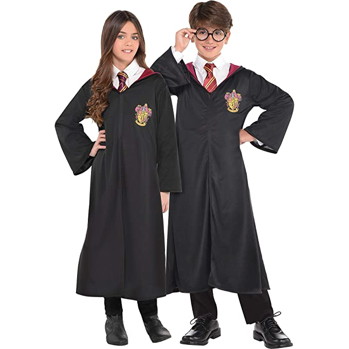 Amazon.com: Traje usted mismo Gryffindor bata, Harry Potter ...