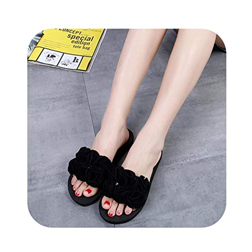 4c980cbd4 Large Size 36-40 Slippers Women Fashion Spring Summer Autumn Slippers  Sandals Female Slides Flip