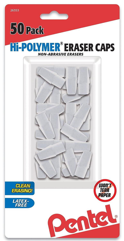 Pentel 50 gomas para lapiz (blancas) xsr