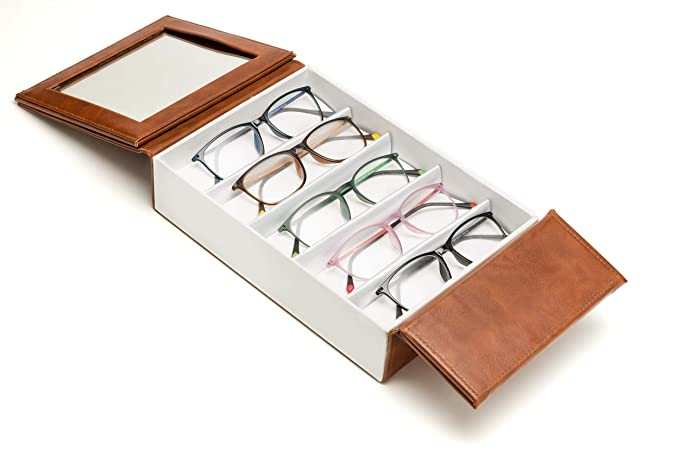 cff81d6874d Amazon.com  Eye Glasses Display Collection Case Sunglasses Storage ...