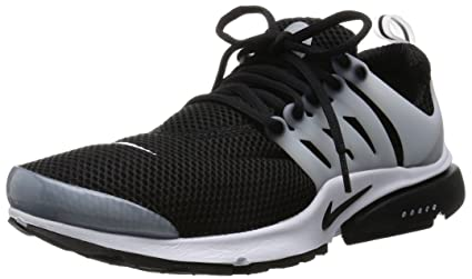 best sneakers 436b0 9f676 848132-010 MEN AIR PRESTO NIKE BLACK BLACK-WHITE-NEUTRAL GREY