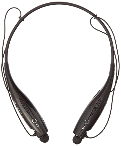 19ac334012e BYTECH Bluetooth Stereo Headset Necklace Style - Black: Amazon.in:  Electronics