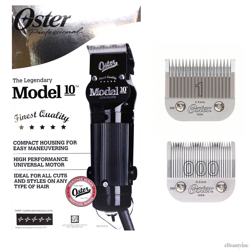 Oster Professional Model 10 Clipper With blades Size 000 by Oster (Image #1)