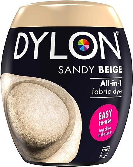 Dylon Tinte para máquina (350 g), Color, Beige arenoso, 350G