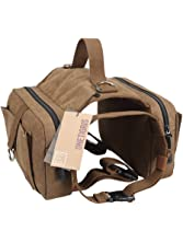 OneTigris Dog Pack Hound Travel Camping Hiking Backpack Saddle Bag Rucksack Medium & Large Dog