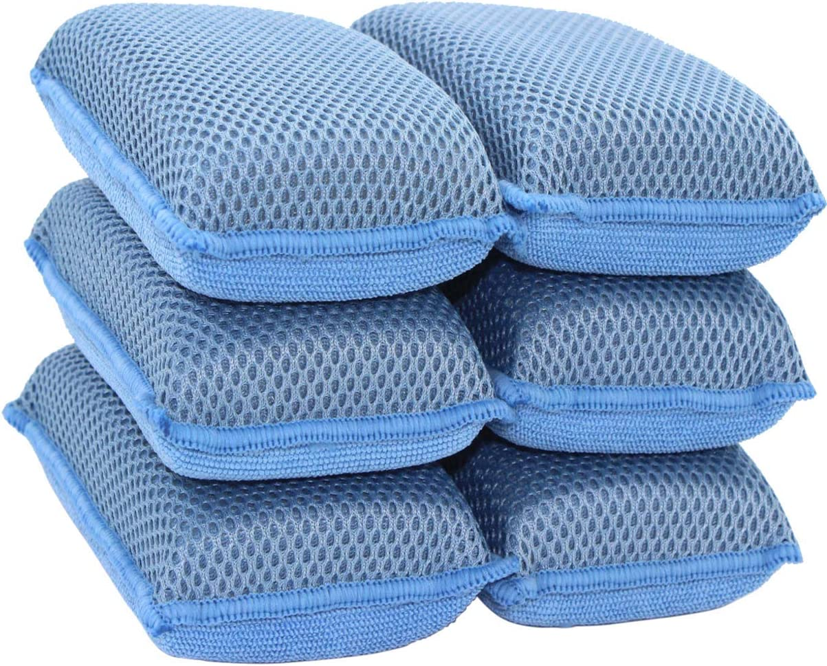 NEW CLEARWATER MIRACLE PAD X 3 PCS SPONGE ERASER PAD CHEMICAL FREE SCRUB