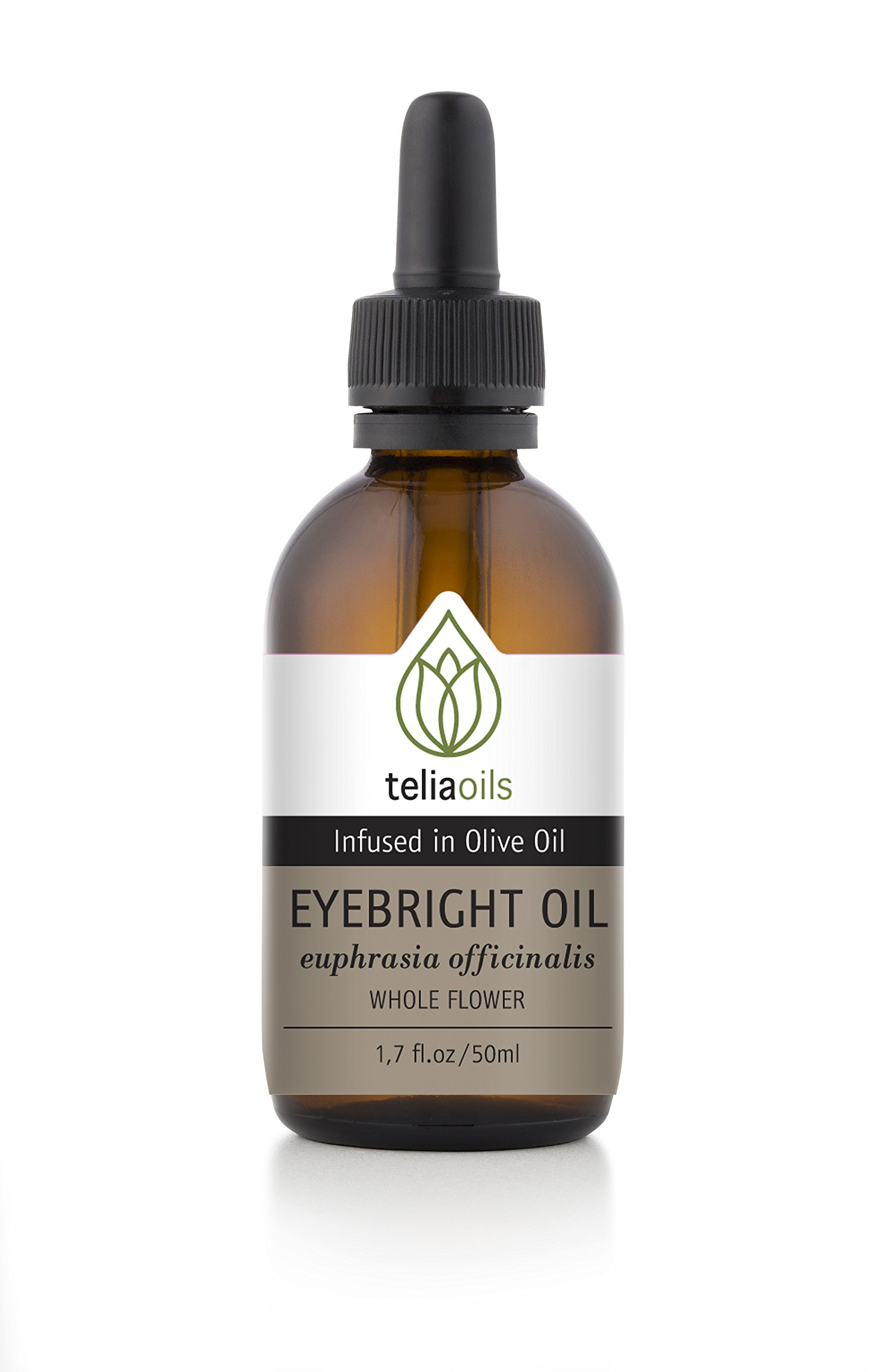 Eyebright (Euphrasia Officinalis) Infused Oil Extract (Macerated Oil), 1.7 Oz - 50 Ml / Hydrates the Delicate Skin Around the Eye Area - Protects Against the Appearance of Fine Lines and Wrinkles