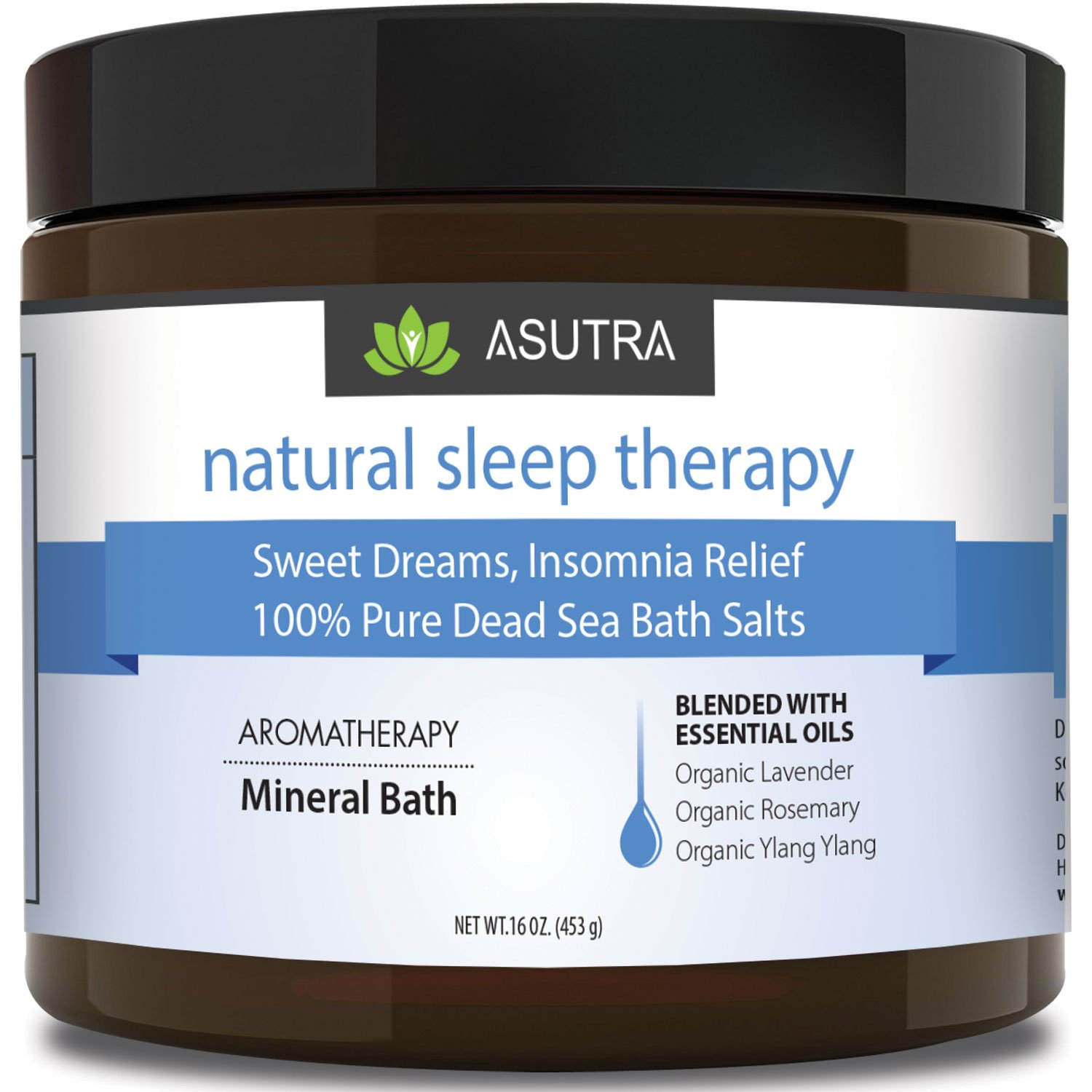 """NATURAL SLEEP THERAPY"" Bath Salts"