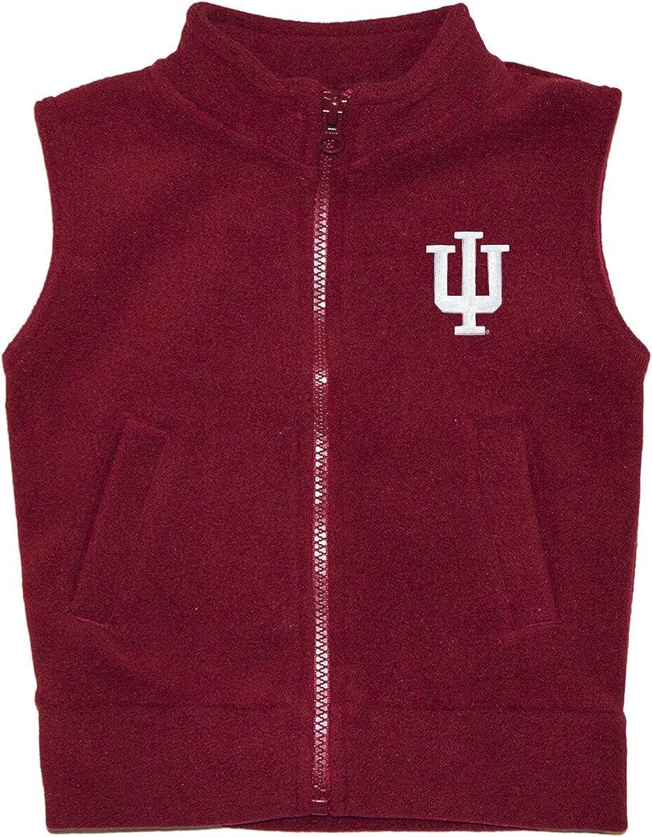 Creative Knitwear Indiana University Hoosiers Newborn Infant Baby Polar Fleece Vest