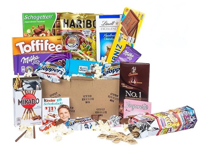 Caja de dulces y chocolates alemanes - Surtido n.º 1