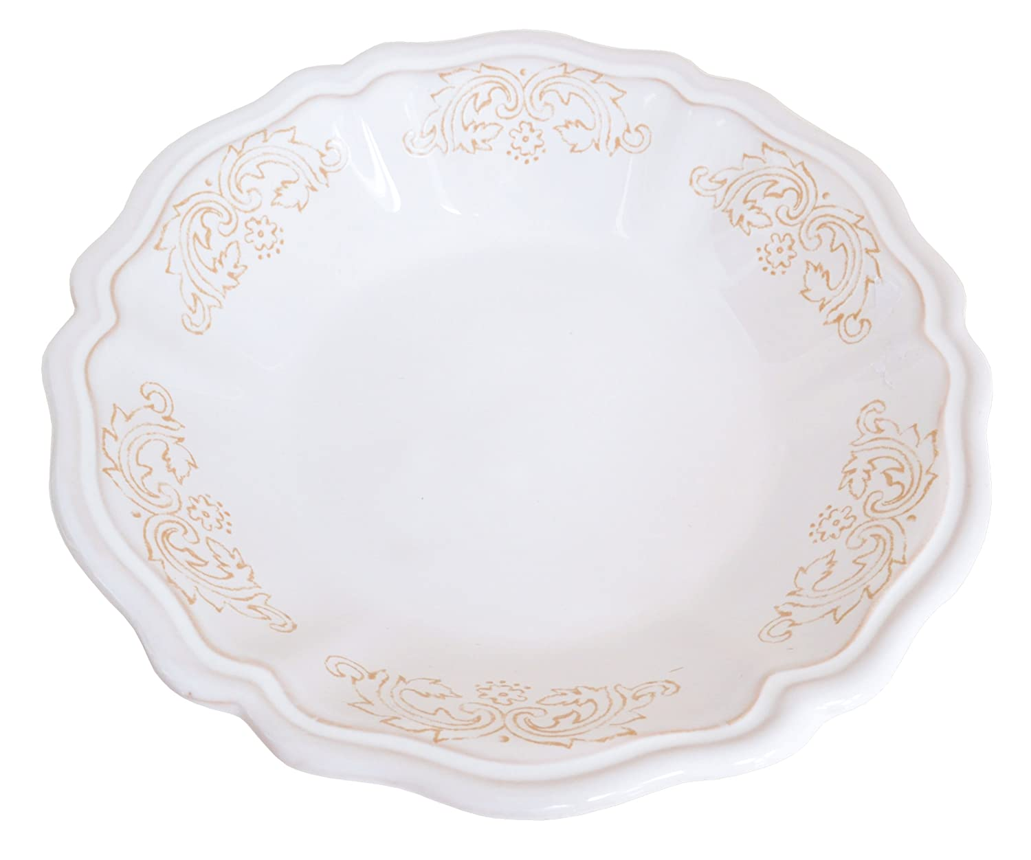 12.5-Inch by 9-Inch by 2.75-Inch Abbiamo Tutto Antica Toscana Oval Bowl