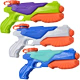 JOYIN 3 Pack Water Blaster Soaker Squirt Toy Swimming Pool Beach Water Fighting Toy