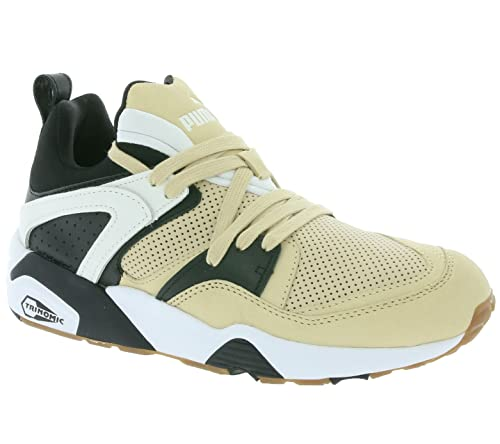 4ed270f443f2 Puma Blaze of Glory X Monkey Time Sneaker Beige 361901 01  Amazon.co ...