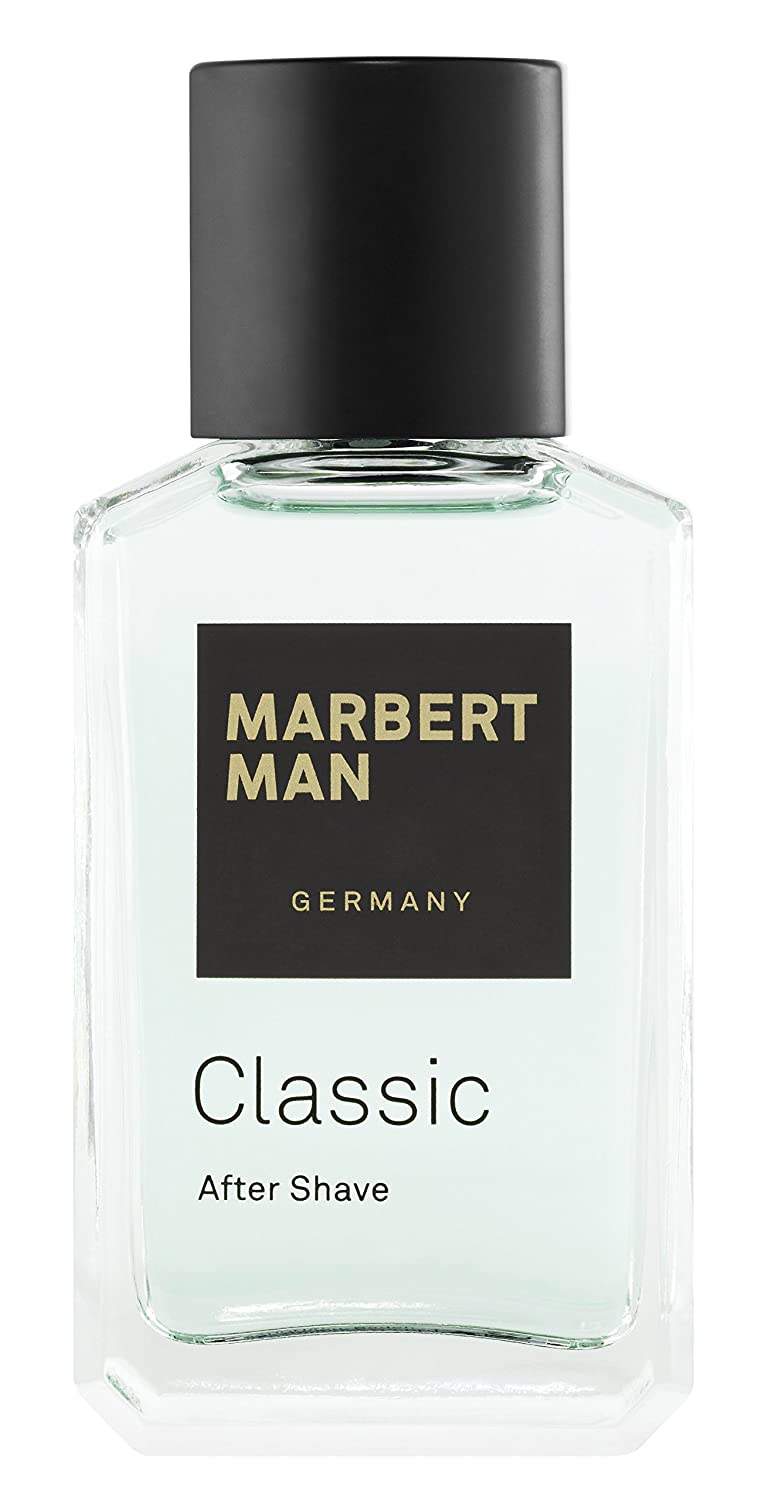 Marbert Classic homme/ man, After Shave, 1er Pack (1 x 100 ml) 4085404550050