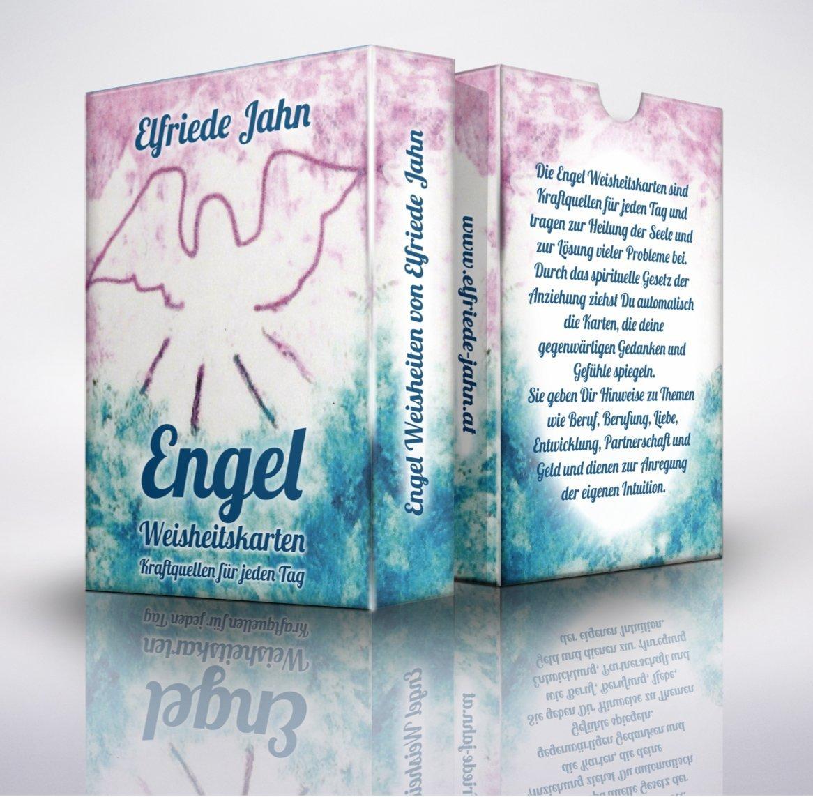Engel - Weisheitskarten - Kraftquellen für jeden Tag: Engelkarten von Elfriede Jahn