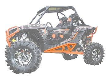 Super ATV Polaris RZR 900/1000 - Zapatillas de roca, color naranja