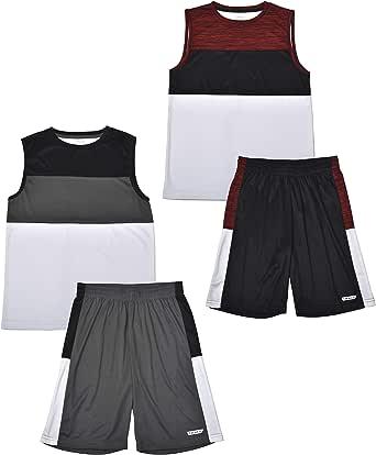 Boys #23Basketball Jersey 2-Piece Performance Tank Top and Shorts Set