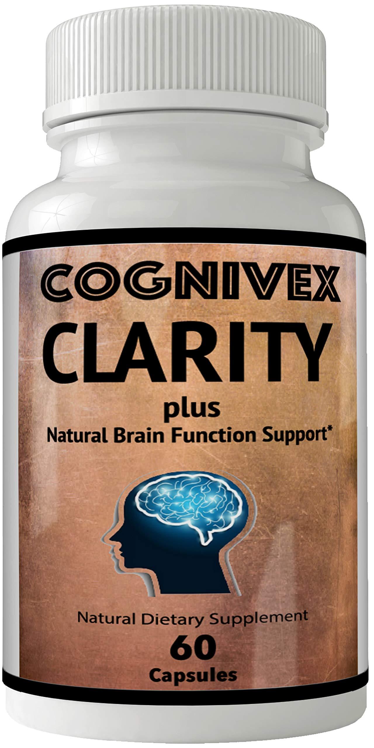 Cognivex Clarity Plus Brain Health - Advanced IQ Brain Supplement - Clarity Plus IQ Pill Advanced IQ Plus Supplement - Original Clarity Mind IQ Plus Limitless Pill