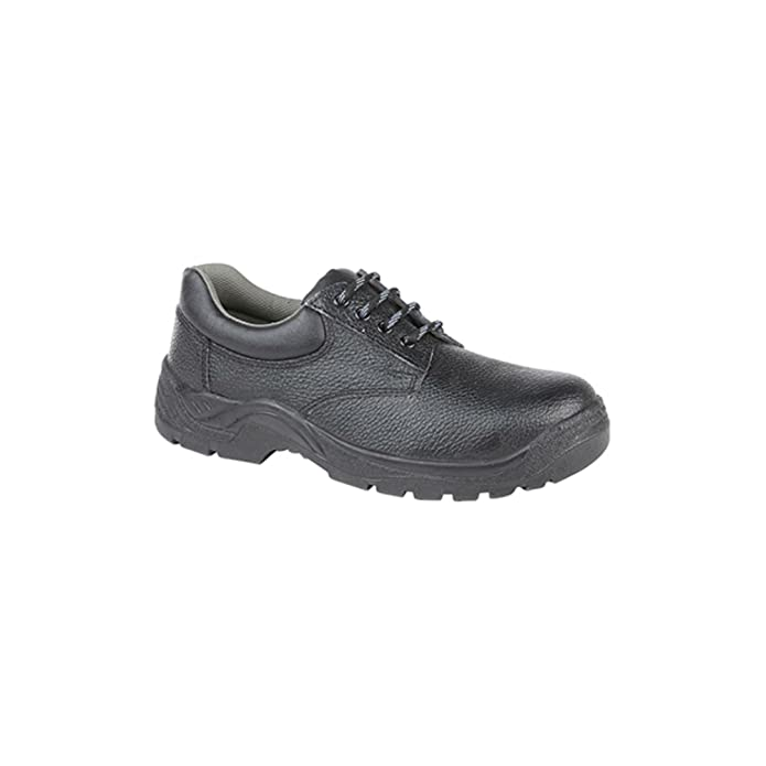 Grafters M835A Unisex Mens Womens Ladies Work S1 SRC Safety Trainers Shoes Black