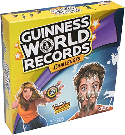 Lúdilo Guinness World Records Challenges (80351): Amazon.es: Juguetes y juegos