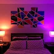 Philips Hue White And Color Ambiance A19 60w Equivalent Smart Bulb Starter Kit Compatible With