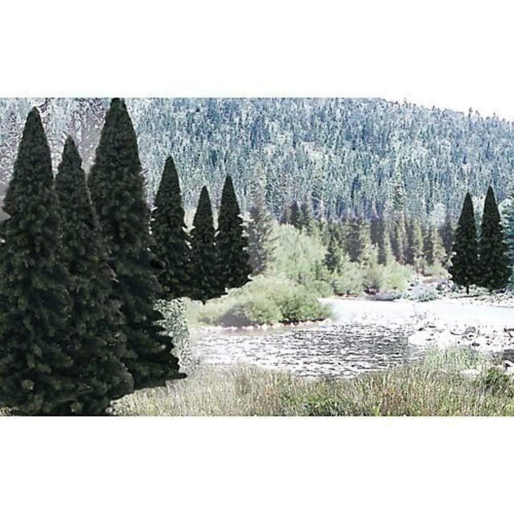 "Woodland Scenics Trees Value Pack- 2"" - 4"" Evergreen (18)"