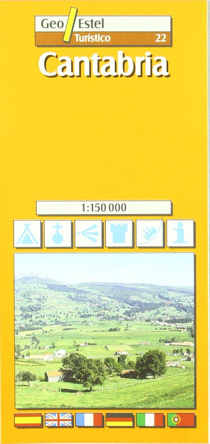 CANTABRIA -MAPA TURÍSTICO 1:150.000 Ciudades. Planos/Guia: Amazon.es: Mapes de Geoestel: Libros