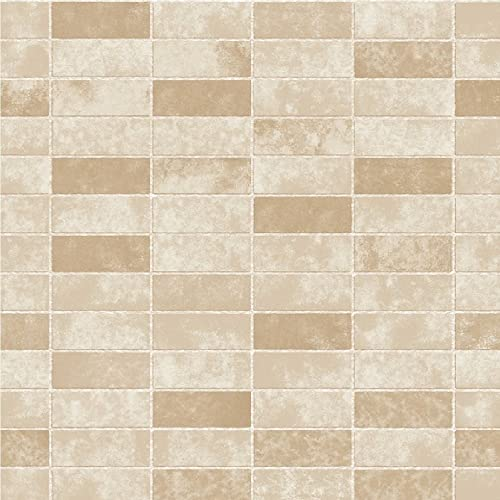 Merveilleux BHF FD40118 Ceramica Stone Tile Kitchen And Bathroom Wallpaper   Gold
