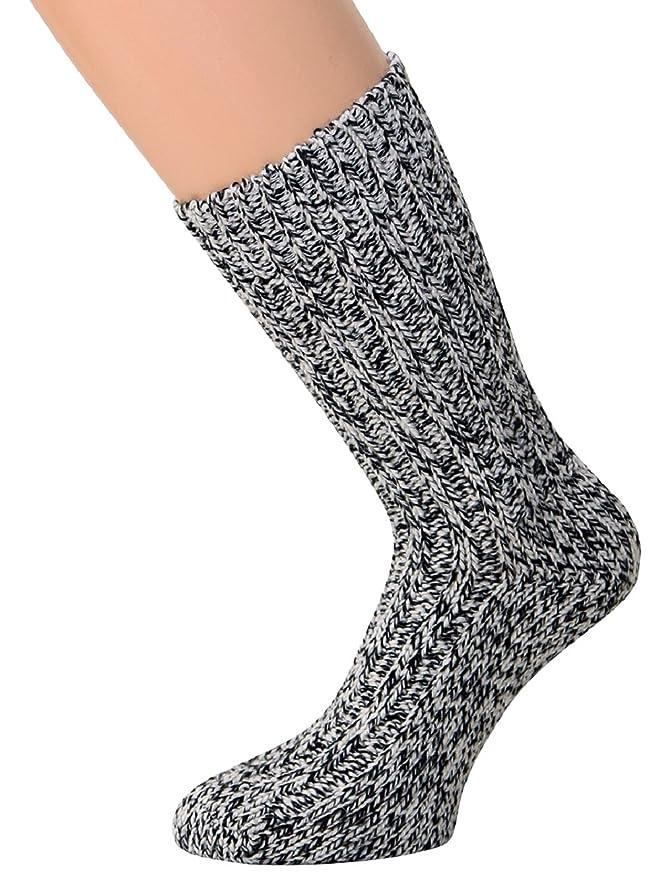 Calcetines para hombre y mujer suaves de lana de oveja noruega (2 pares), hasta talla 50: Amazon.es: Ropa y accesorios