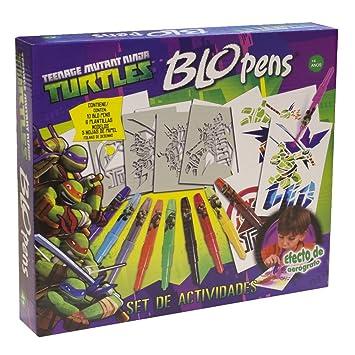 Amazon.com: Teenage Mutant Ninja Turtles Blow Pens (Socio de ...