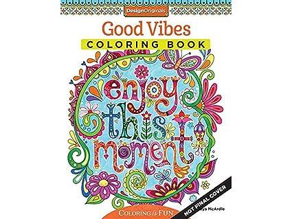 Design Originals Good Vibes Coloring Book