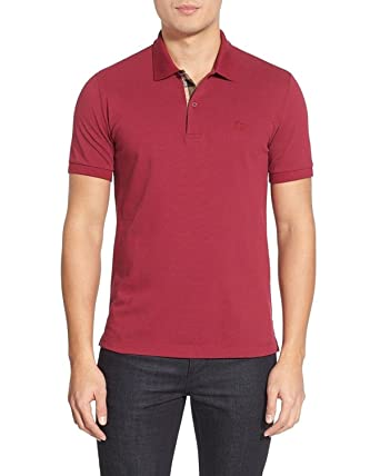 BURBERRY - Polo para Hombre OXFORD - Rojo (Military Red), S ...