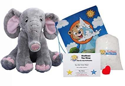 Make Your Own Stuffed Animal Trunks The Elephant No Sew Kit With Cute Backpack