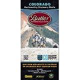 Butler Maps G1 Colorado Motorcycle Map,