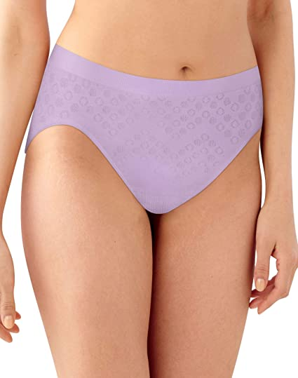 db47fbf5318 Bali Womens Comfort Revolution Microfiber Seamless Hi Cut Panty at Amazon  Women's Clothing store: