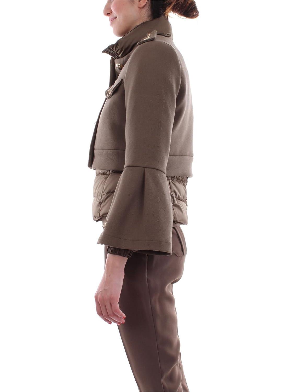 Elisabetta Franchi - Abrigo - para Mujer Size: 42: Amazon.es: Zapatos y complementos
