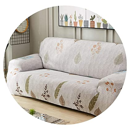 Amazon.com: No Buy No Bye Gray Leaves slipcovers Sofa Couch ...