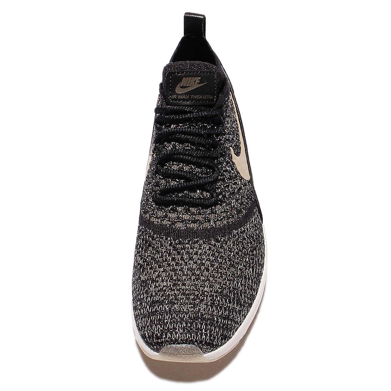 super popular 75c33 7b86b Nike Women s WMNS Air Max Thea Ultra FK MTLC, Black Metallic Gold Star-Ivory,  10 US  Amazon.co.uk  Shoes   Bags