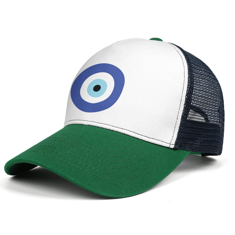 Yin Yang Tree Womens Men Mesh Sun Cap Adjustable Snapback Travel Cowboy Hat