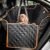 Siivton Lantoo Dog Seat Cover,Nonslip Waterproof Soft Car Large Back Seat Pet Covers Hammock for Cars, Trucks, SUVs with Side Flaps