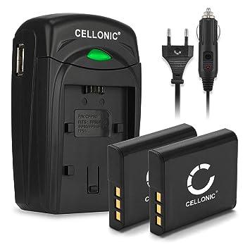 CELLONIC 2X Batería Compatible con Sony DSC-H50 -H3 -H7 -H9 -H10 ...